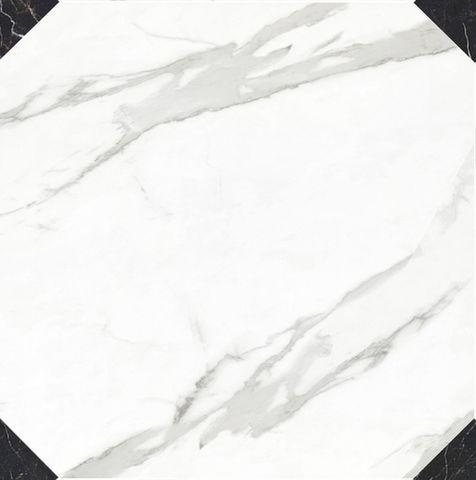 Керамогранит Caramelle Marble Porcelain Calacatta Octagon 60х60 полированный