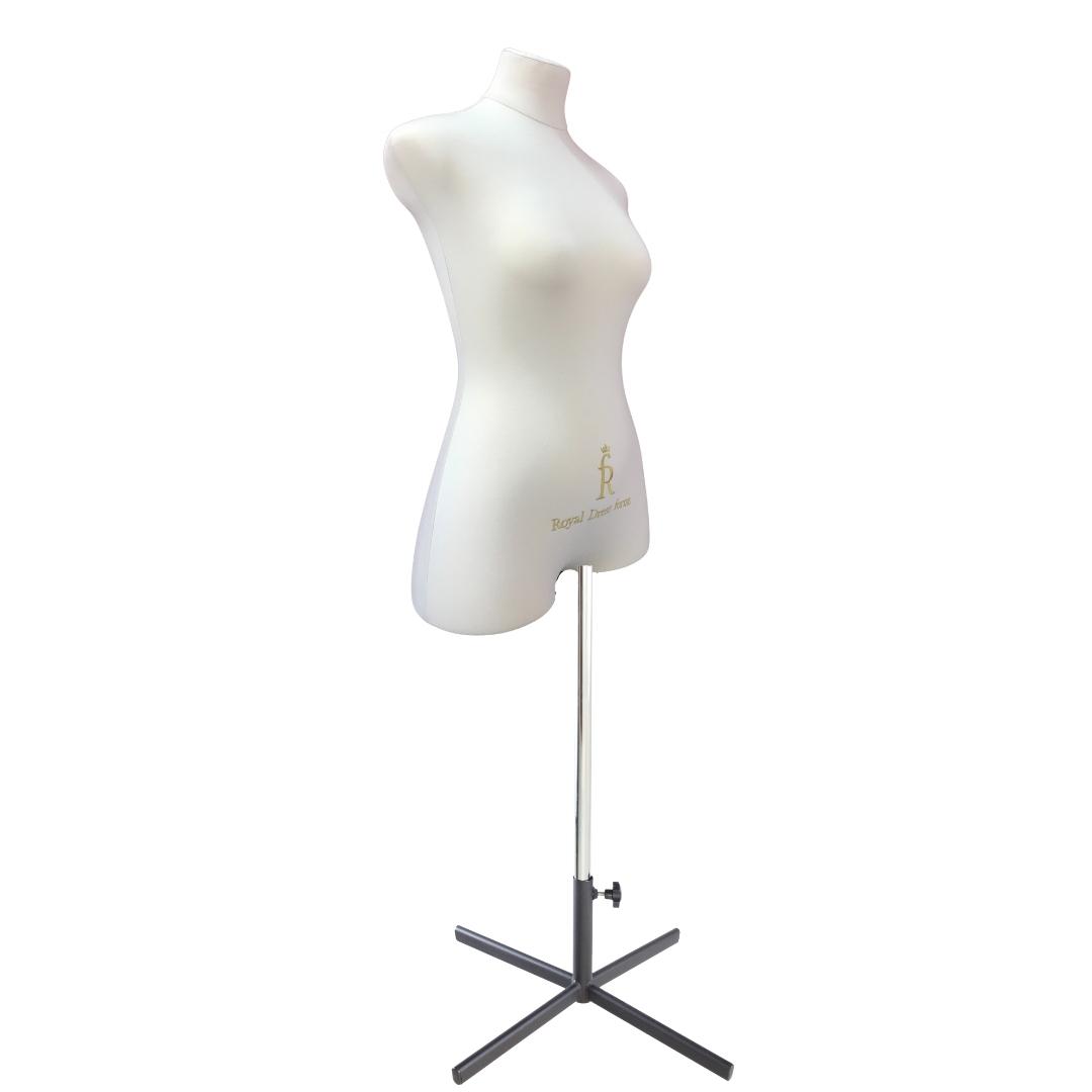 Манекен портновский Кристина, комплект Премиум, размер 44, тип фигуры Песочные часы, бежевыйФото 2