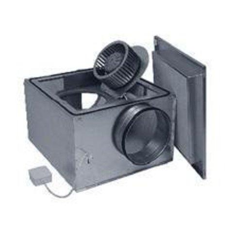 Канальный вентилятор в изолированном корпусе Ostberg IRE 125 С1 для круглых воздуховодов