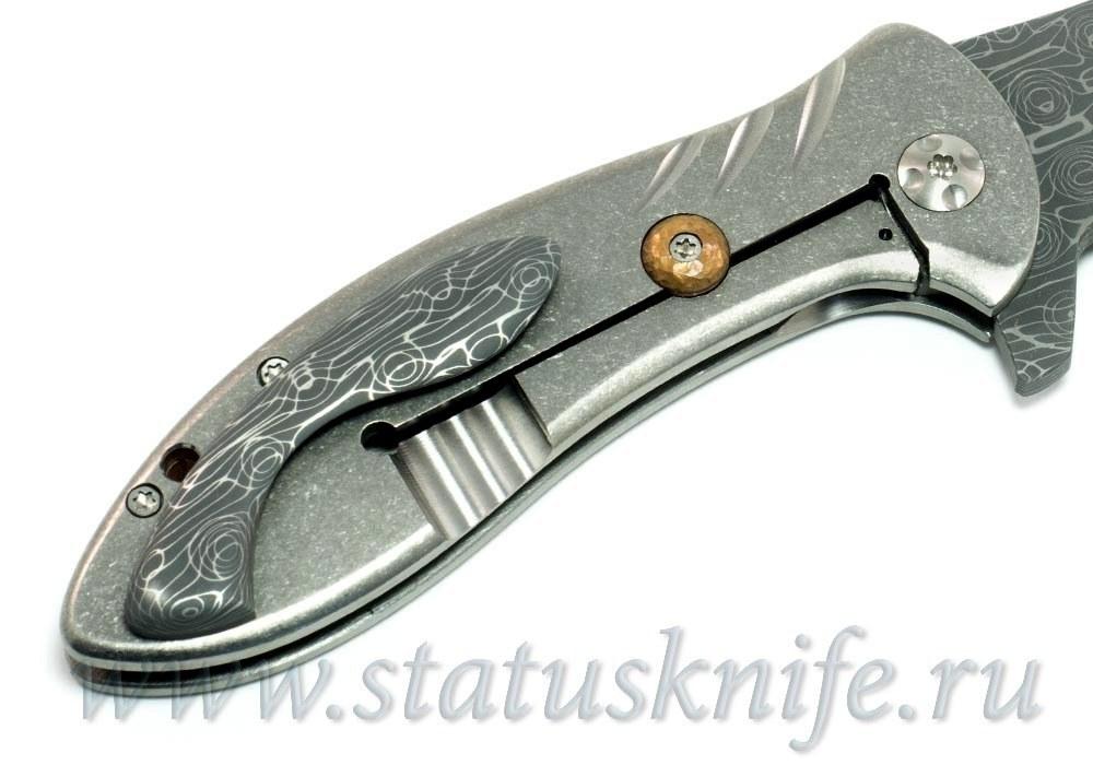 """Нож Eric Ochs """"Gyrfalcon Flipper"""" - фотография"""