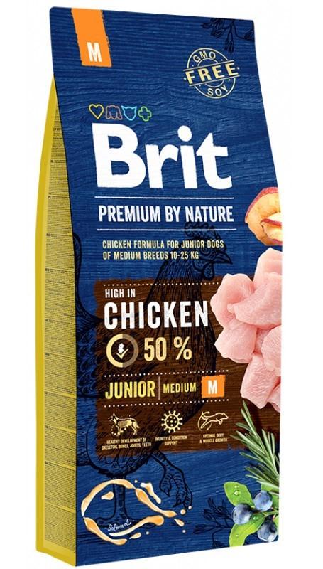 Каталог Корм для щенков и молодых собак средних пород, Brit Premium by Nature Junior M Brit_Premium_Junior_M.jpg