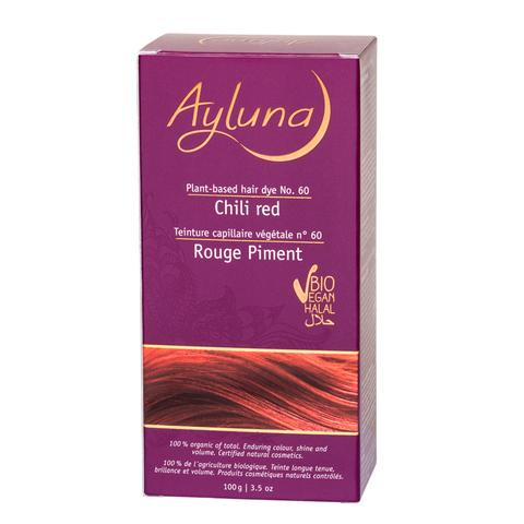 АИЛУНА Краска для волос №60 «КРАСНЫЙ ЧИЛИ» растительная, 100 г