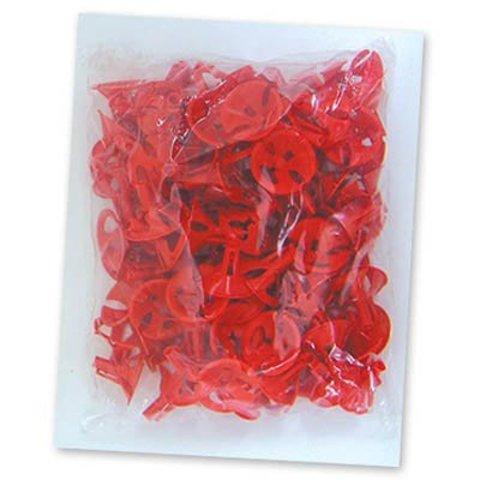 Розетка универсальная Красная