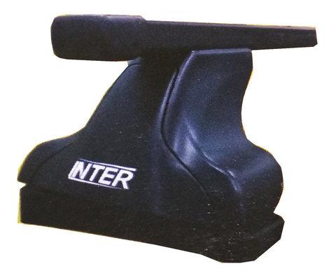 Багажник Интер на крышу Mazda 6 хэтчбек 2007-2012 седан в штатные места 8895 прямоугольные дуги 120 см.
