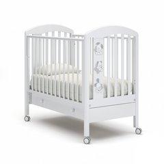 Кровать детская Макс с ящиком белый
