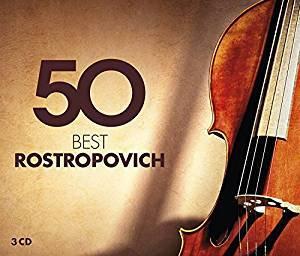 ROSTROPOVICH, MSTISLAV:  50 Best Rostropovich