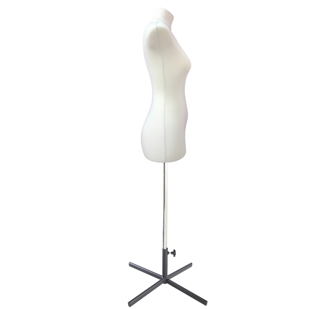 Манекен портновский Кристина, комплект Премиум, размер 44, тип фигуры Песочные часы, бежевыйФото 3