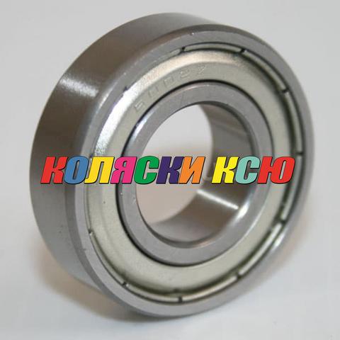 Подшипник 6002zz железная заглушка (вн.диаметр 15мм, наруж диам 32мм) №009003