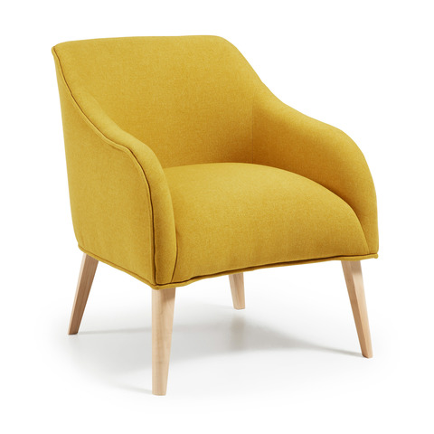 Кресло Lobby желтое