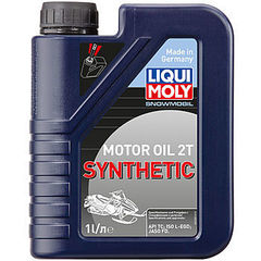 2382 LiquiMoly Синт.мот.маслод/снегох. Snowmobil Motoroil 2T Synthetic TC (1л)