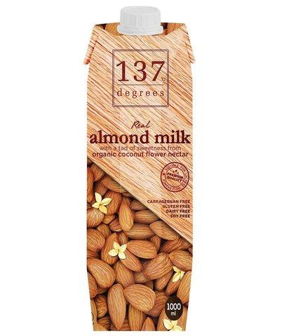 Молоко миндальное с нектаром кокосовых соцветий 137 Degrees, 1л