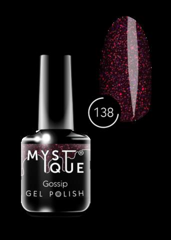 Mystique Гель-лак #138 «Gossip» 15 мл