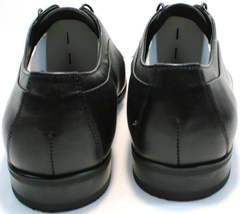 Осенние мужские туфли под костюм Ikoc 060-1 ClassicBlack.