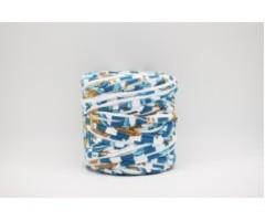 Интерьерная пряжа Maccaroni T-SHIRT Color Stripe