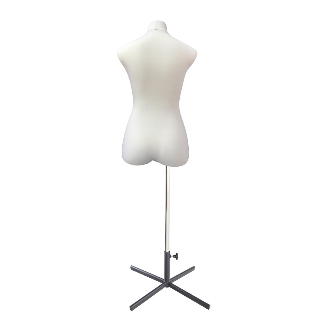 Манекен портновский Кристина, комплект Премиум, размер 44, тип фигуры Песочные часы, бежевыйФото 4