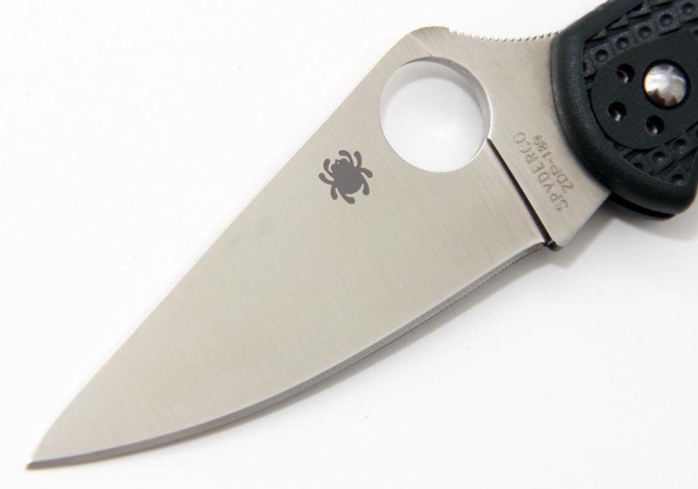 Нож Spyderco Delica 4 C11PGRE ZDP-189 - фотография