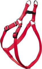 Шлейка для собак, Hunter Smart Ecco Квик S (33-45/35-49 см), нейлон красная