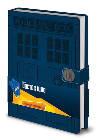 Записная книжка Doctor Who (TARDIS)