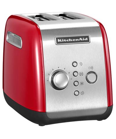KitchenAid Тостер на 2 хлебца, красный, арт.5KMT221ER