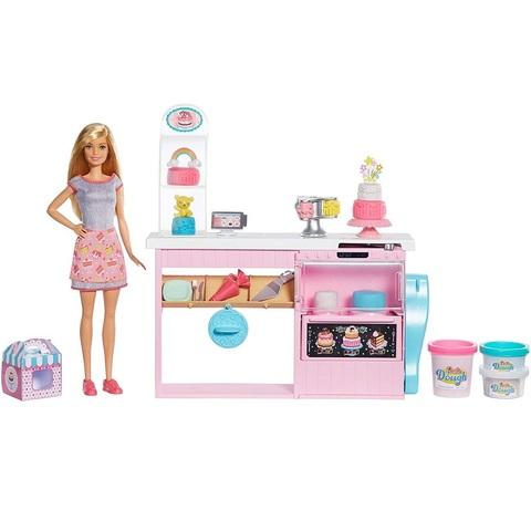 Барби Кем Быть Кондитер с Набором для украшения Пирожных