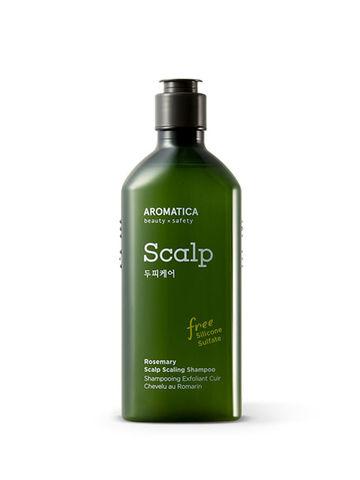 AROMATICA  Rosemary Scalp Scaling Shampoo Шампунь для укрепления и эластичности с розмарином