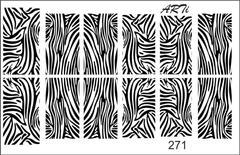 Слайдер наклейки Photonailart №271