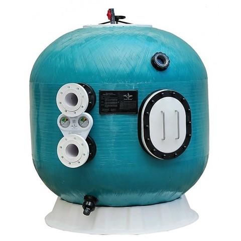 Фильтр озоноустойчивый шпульной навивки PoolKing K1600.OZ.тд 100 м3/ч диаметр 1600 мм с боковым подключением 4