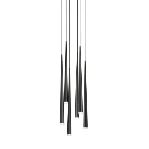 Подвесной светильник копия Slim by Vibia (6 плафонов)
