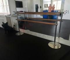 Мобильный  балетный станок МНК1-2 двухрядный