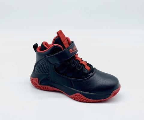 R-Walker 5027-1 Black/Red 31-36