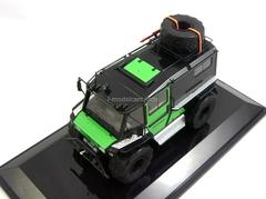 ATV biaxial Petrovich-204-50 4x4 2014 black-green DIP 1:43