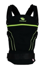 Слинг-рюкзак manduca BlackLine ScreaminGreen (зеленый) NEW