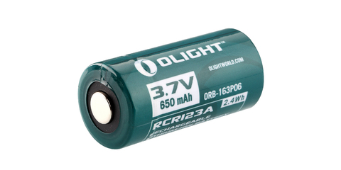 Аккумулятор Li-ion Olight ORB-163P06 16340 3,7 В. 650 mAh