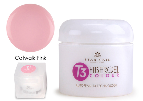 Однофазный розовый гель с кератином для ногтей 28,4 г