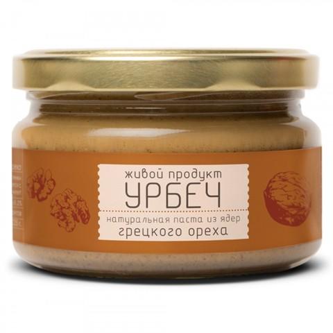 Урбеч из грецкого ореха, 225 гр. (Живой продукт)