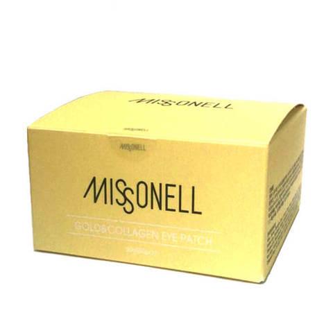 Missonell Gold & Collagen Eye Patch гидрогелевые патчи c коллагеном и золотом