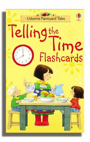 9780746074572 - Telling the time Flashcards