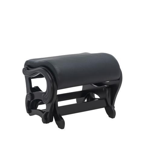 Пуф-глайдер МИ Модель 78 люкс, венге, к/з Dundi 109