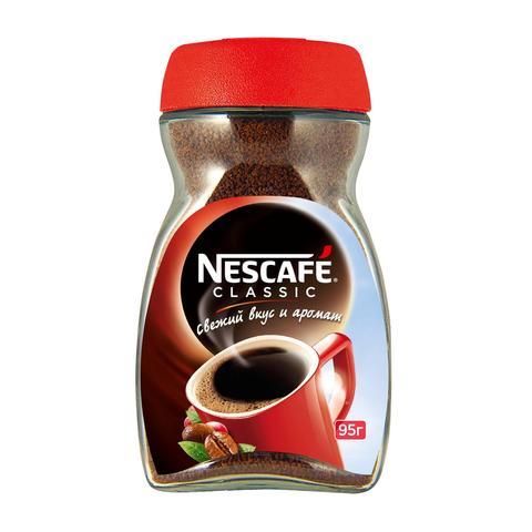 Кофе Nescafe классик 95 гр. (стекло)