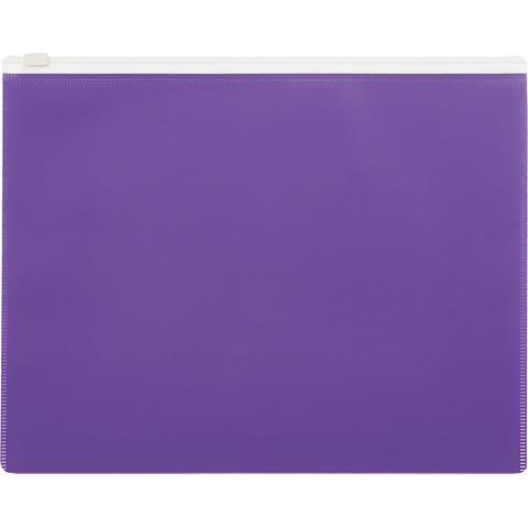 Папка на молнии А5 Attache Color , фиолетов