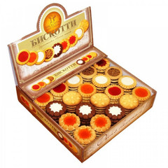 Печенье Бискотти Ассорти 9 видов 1.9 кг