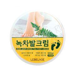 Lebelage - Крем для ног с экстрактом зеленого чая, 300мл
