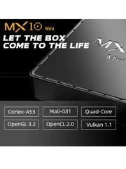 Смарт TV Box MX10 mini Android 10.0 4/64 Гб