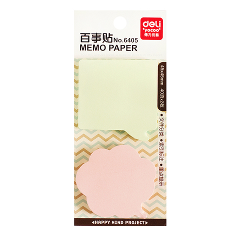 Стикеры Notes Pink and green