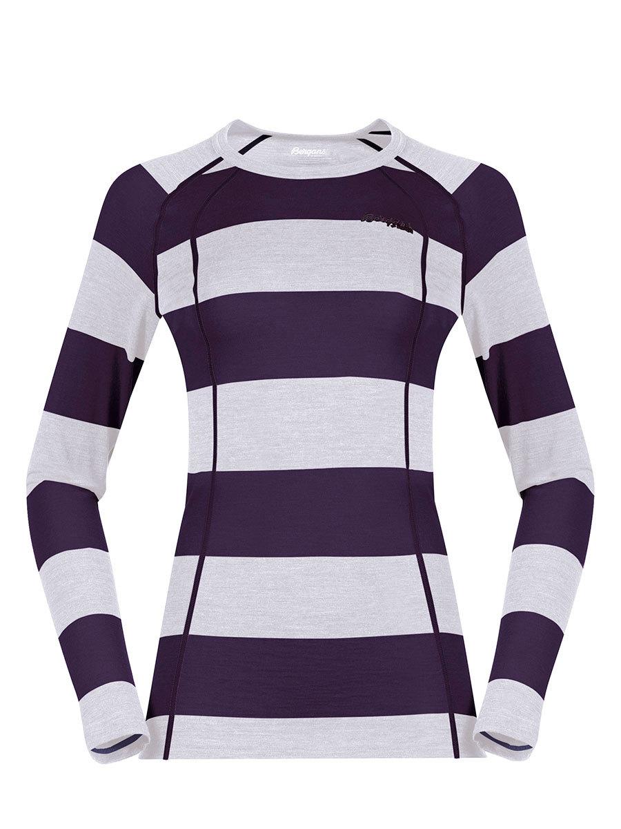 Bergans термобелье футболка 1965 Fjellrapp Lady Shirt Purple Velvet