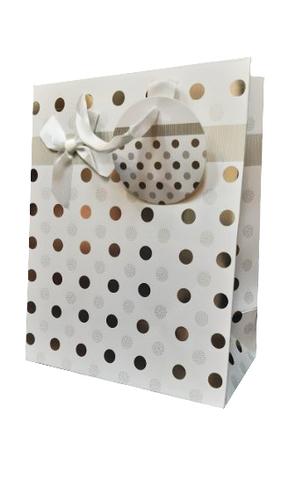 Подарочный пакет средний вертикальный