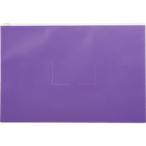 Папка на молнии А4 Attache Color , фиолетов