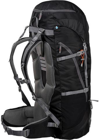 Картинка рюкзак туристический Trek Planet Makalu 95 черный - 2