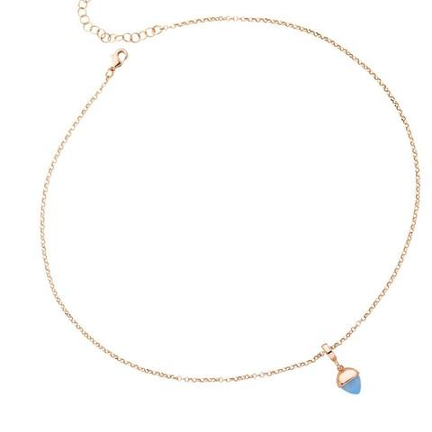 Колье с кулоном Caleida Blue XGR562RC BL/RG