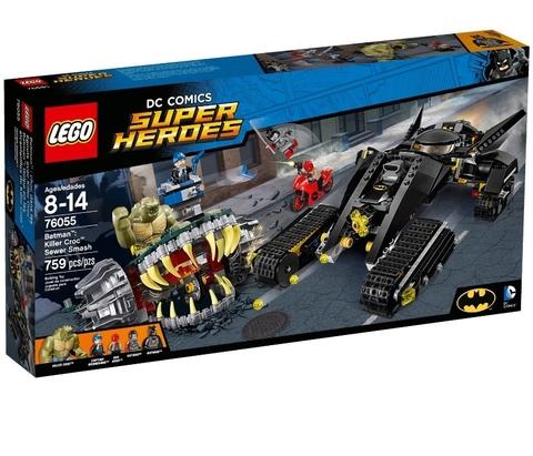 LEGO Super Heroes: Бэтмен: Разгром в канализации убийцы Крока 76055 — Batman: Killer Croc Sewer Smash — Лего Супер Герои ДиСи